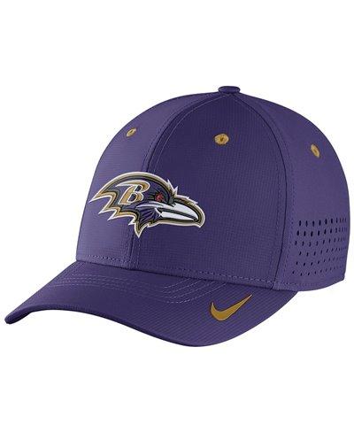 Herren Cap Legacy Vapor Swoosh Flex NFL Ravens