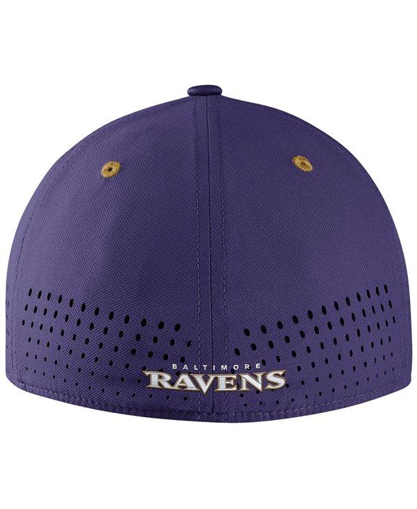 Men's Cap Legacy Vapor Swoosh Flex NFL Ravens