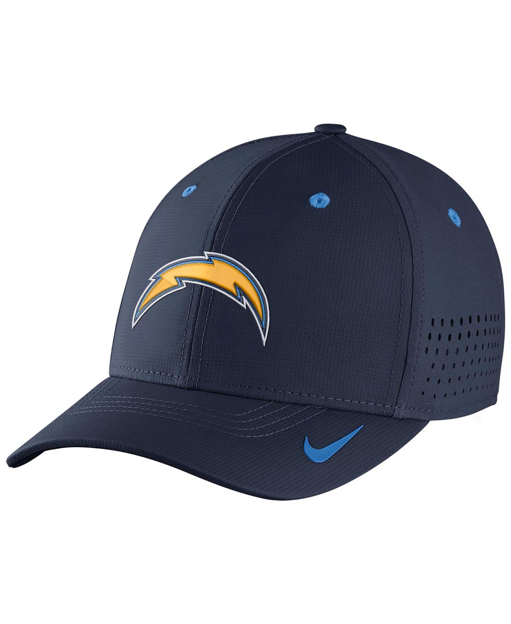 NFL Chargers Flex Legacy Swoosh Herren Cap Vapor E2IDH9