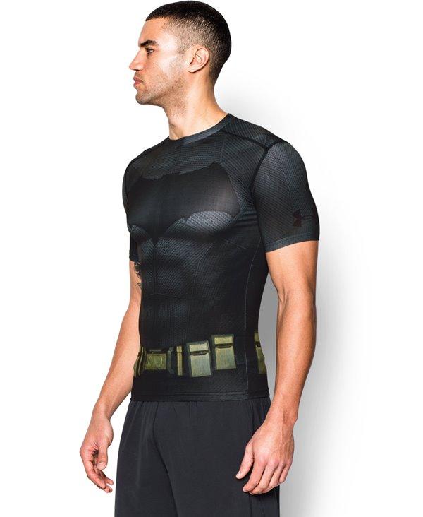 Alter Ego Men's Short Sleeve Compression Shirt Batman