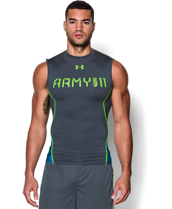 Army Of 11 Men's Compression Tank