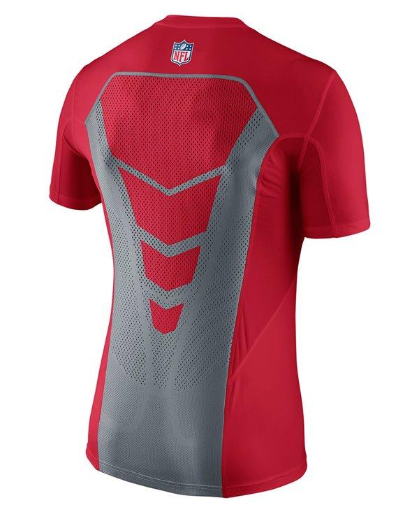 Hypercool Fitted Herren Langarm Kompressions-Shirt  NFL 49ers