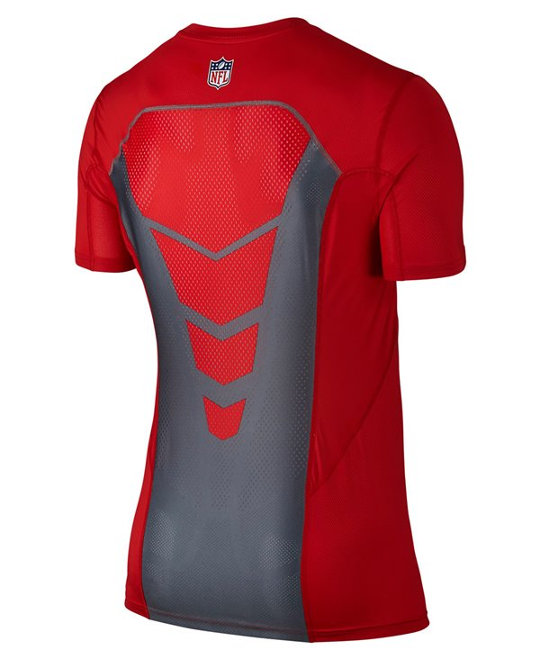 Pro Hypercool Fitted Men's Long Sleeve Compression Shirt NFL Chiefs