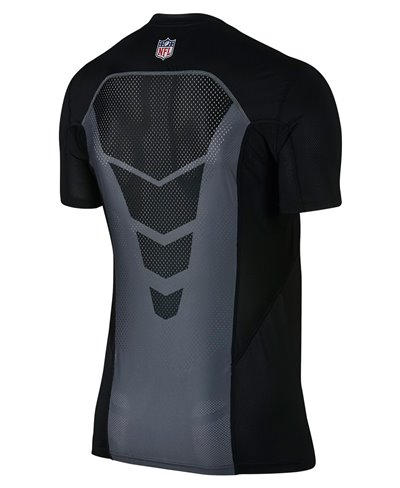 Pro Hypercool Fitted Men's Long Sleeve Compression Shirt NFL Ravens