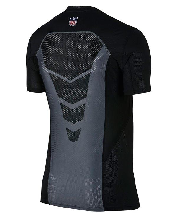 Pro Hypercool Fitted Herren Langarm Kompressions-Shirt  NFL Ravens