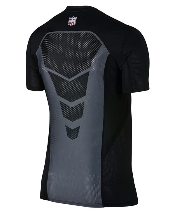 Pro Hypercool Fitted T-shirt Compression à Manches Longues Homme NFL Ravens
