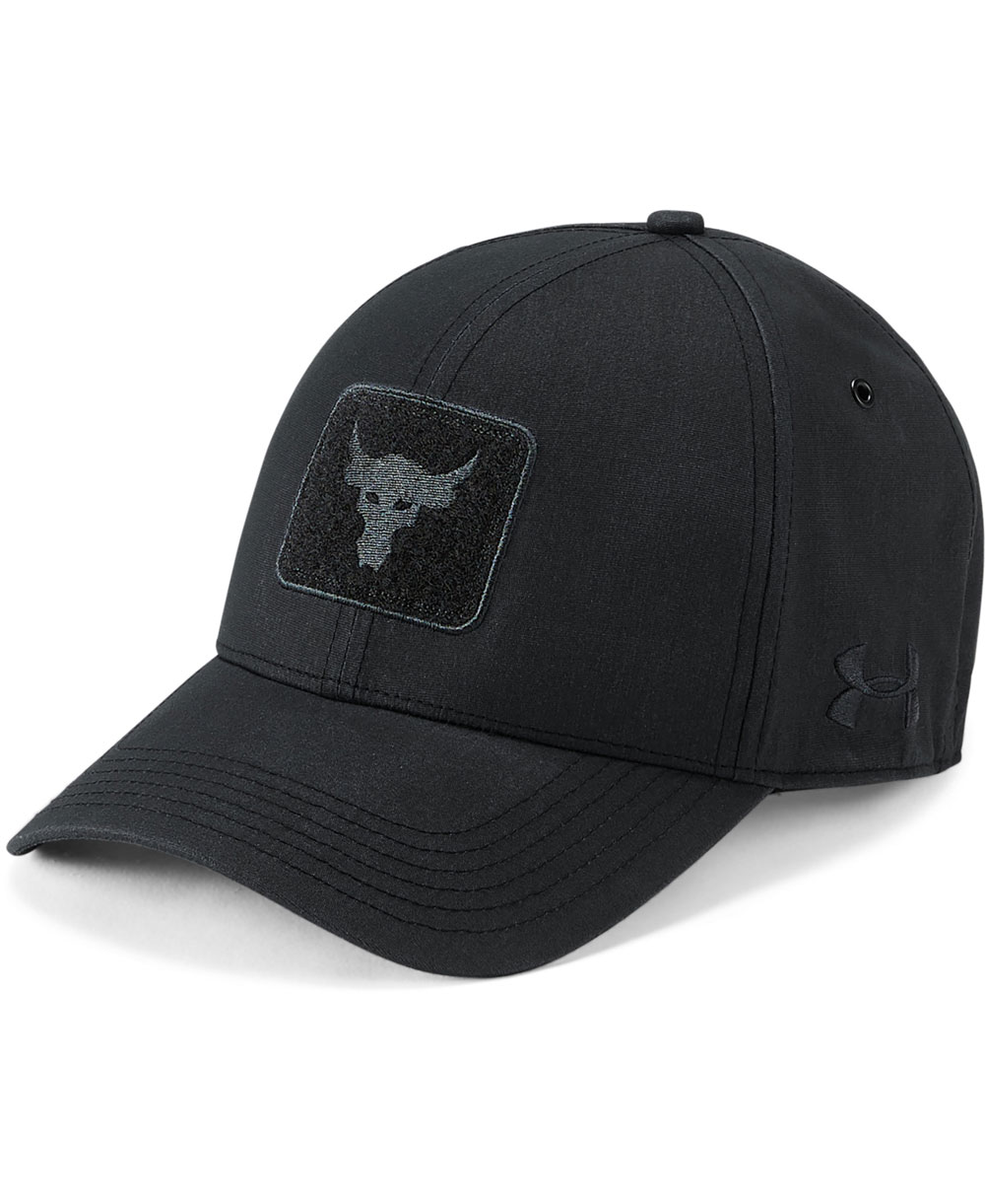 bf0ad427 Under Armour Men's Cap Project Rock Pro Series Black