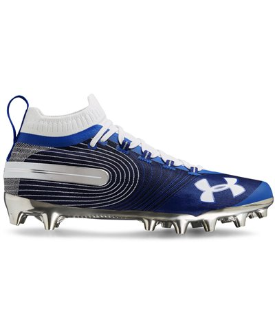 Spotlight MC Zapatos de Fútbol Americano para Hombre Team Royal/White