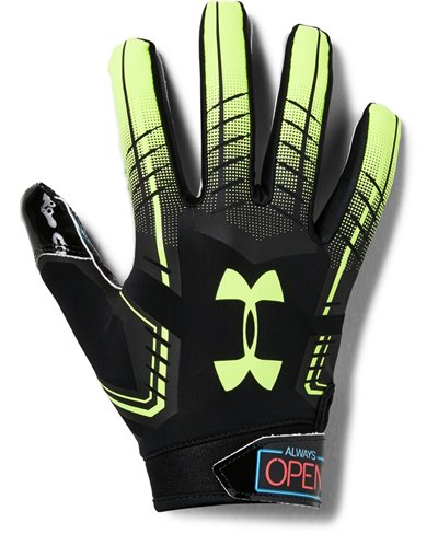F6 Novelty Men's Football Gloves Black 003