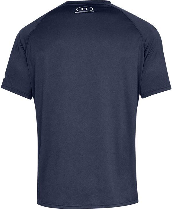 Men s Short Sleeve T-Shirt NFL Combine Authentic UA Tech Lockup New England  Patriots. Under Armour 710498bf0