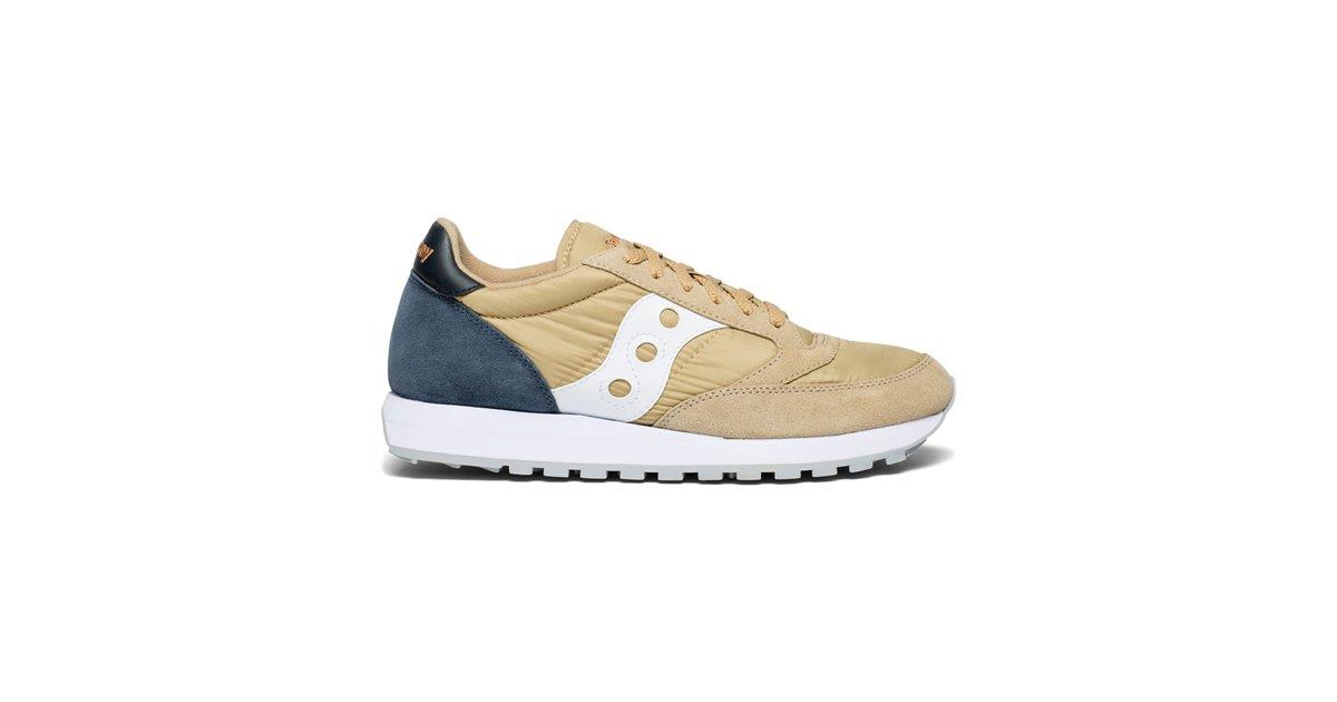 Saucony Jazz Original Scarpe Sneakers Uomo TanNavy