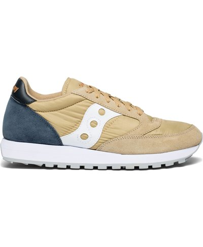 Herren Sneakers Jazz Original Schuhe Tan/Navy