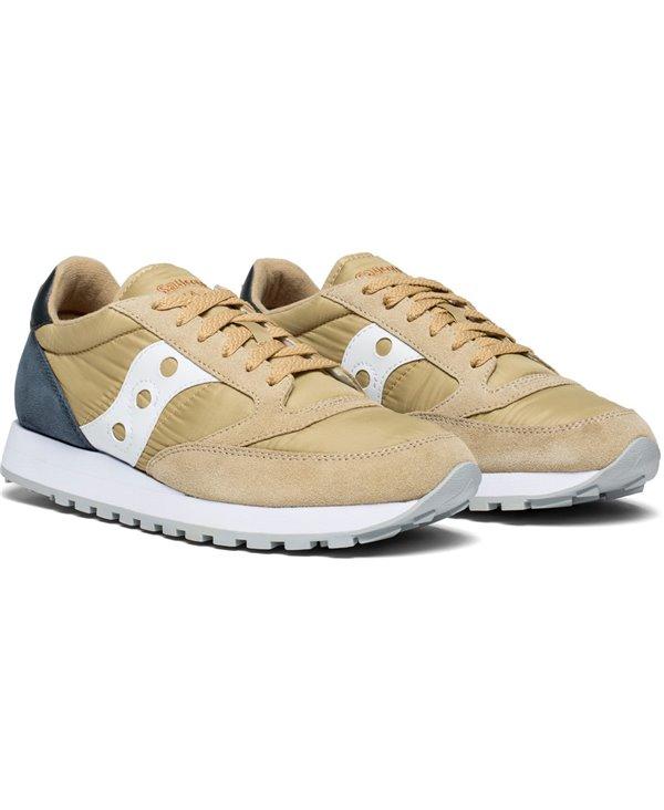 Jazz Original Chaussures Sneakers Homme Tan/Navy