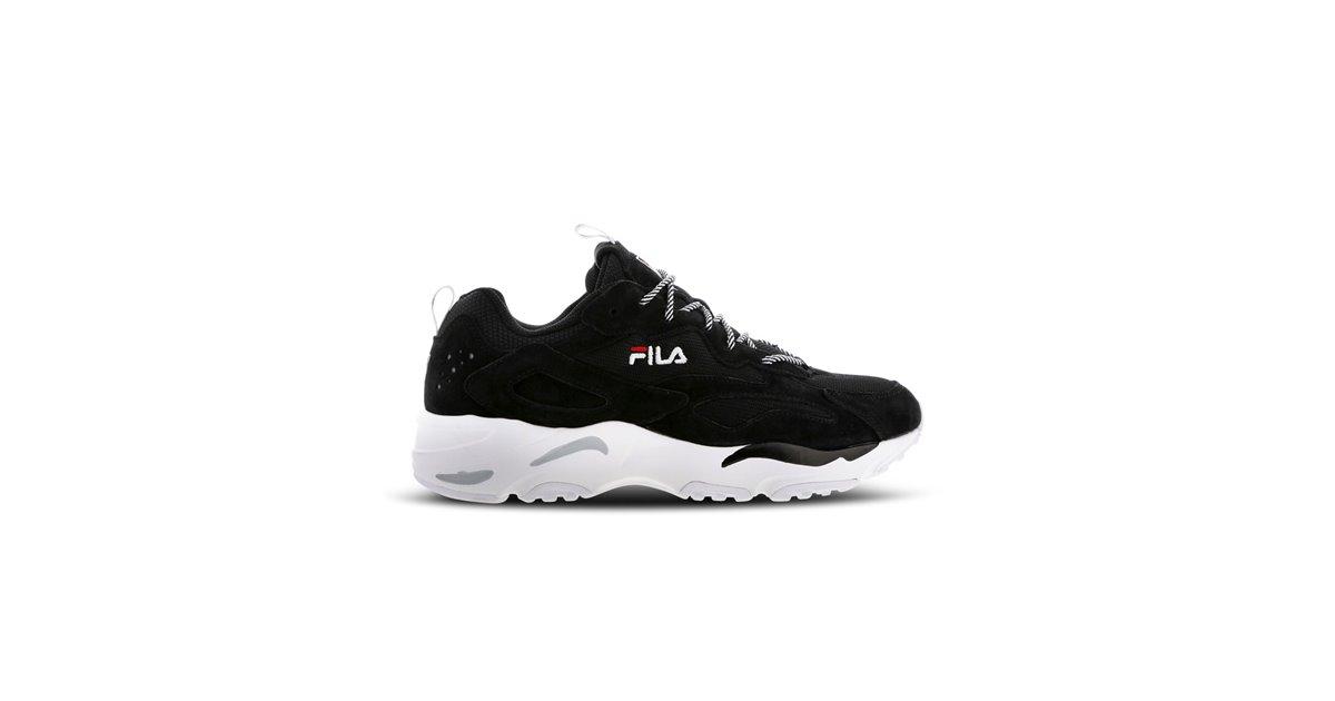 597c4f48105 Fila Ray Tracer Zapatos Sneakers para Hombre Black