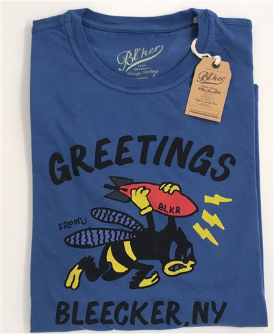 Men's Short Sleeve T-Shirt Felix Royal