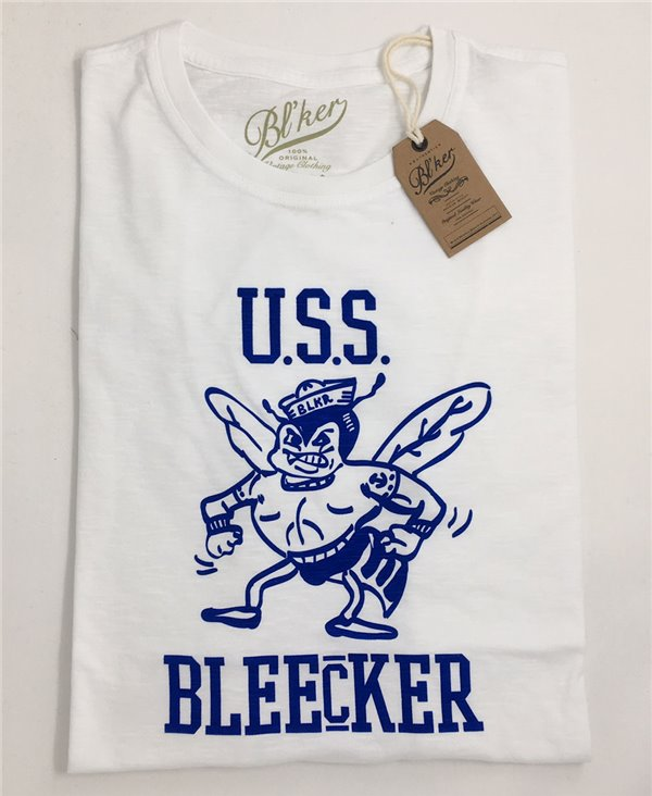 USS Bleecker T-Shirt à Manches Courtes Homme White