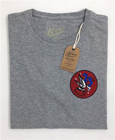 Men's Short Sleeve T-Shirt 23 Bomb Group Grey Melange