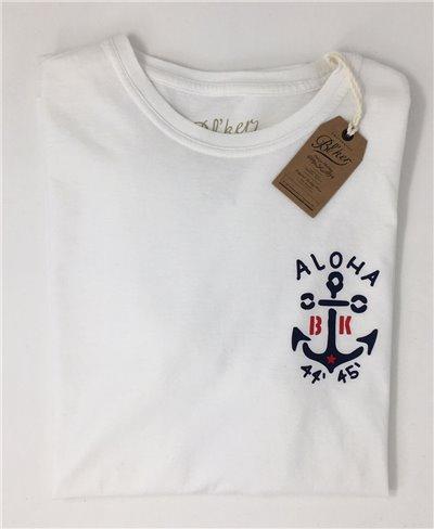 quality design 3fae6 53e5a Anchor T-Shirt à Manches Courtes Homme White