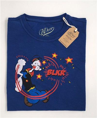 Sailor T-Shirt Manica Corta Uomo Indigo