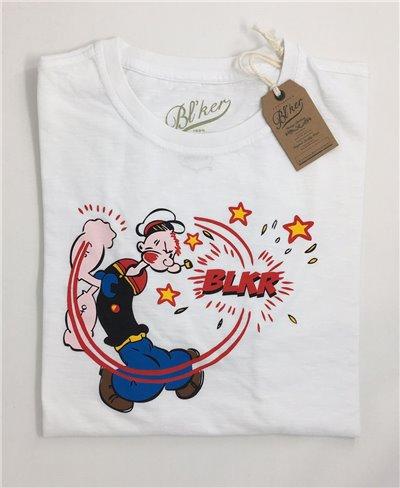 Sailor T-Shirt à Manches Courtes Homme White