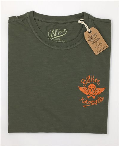 MC T-Shirt Manica Corta Uomo Military Green