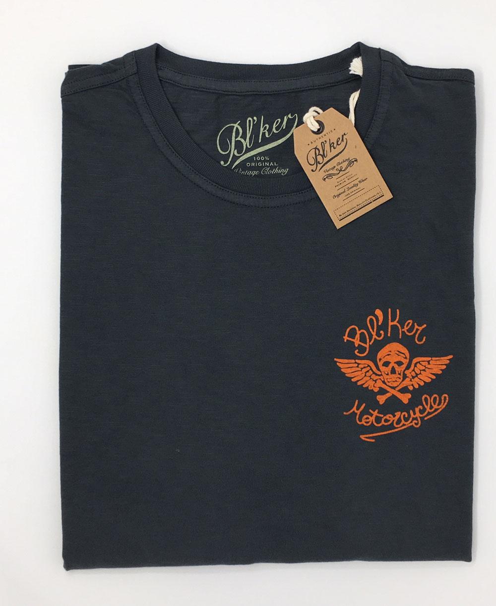 Men's Short Sleeve T-Shirt MC Faded Black