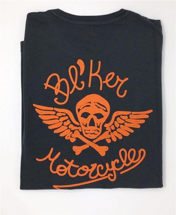Herren Kurzarm T-Shirt MC Faded Black