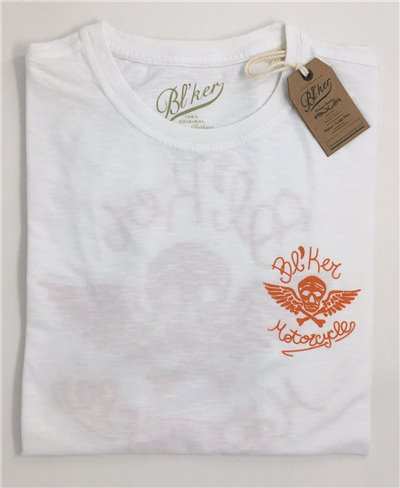 MC T-Shirt Manica Corta Uomo White