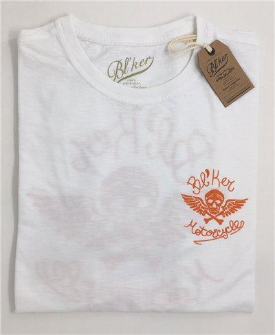 Men's Short Sleeve T-Shirt MC White