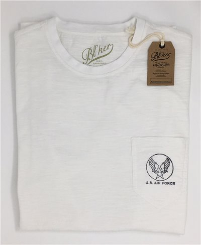US Air Force T-Shirt Manica Corta Uomo White
