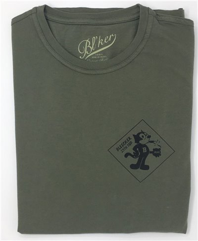 Men's Short Sleeve T-Shirt Felix Military Green