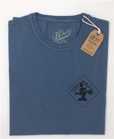 Felix Camiseta Manga Corta para Hombre Petroleum