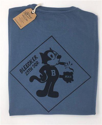 Herren Kurzarm T-Shirt Felix Petroleum