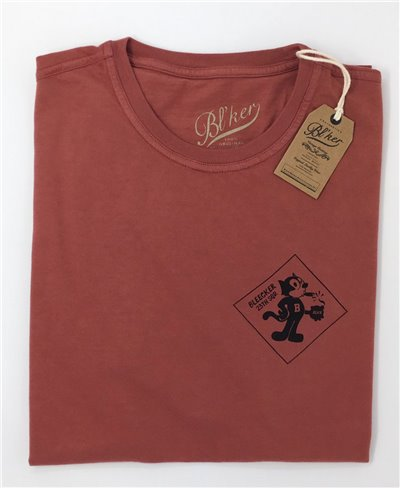 Men's Short Sleeve T-Shirt Felix Red