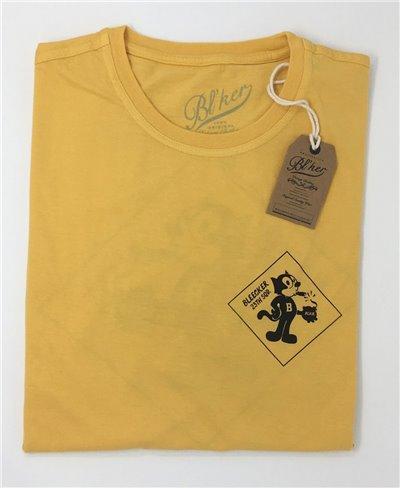 Felix T-Shirt Manica Corta Uomo Yellow