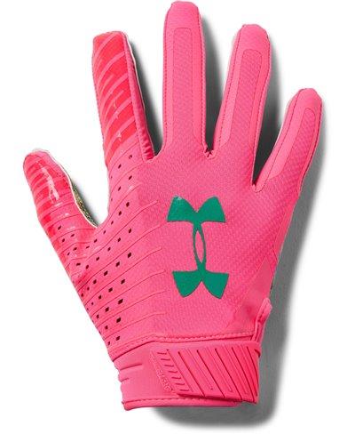 Spotlight LE Herren American Football Handschuhe Mojo Pink 641
