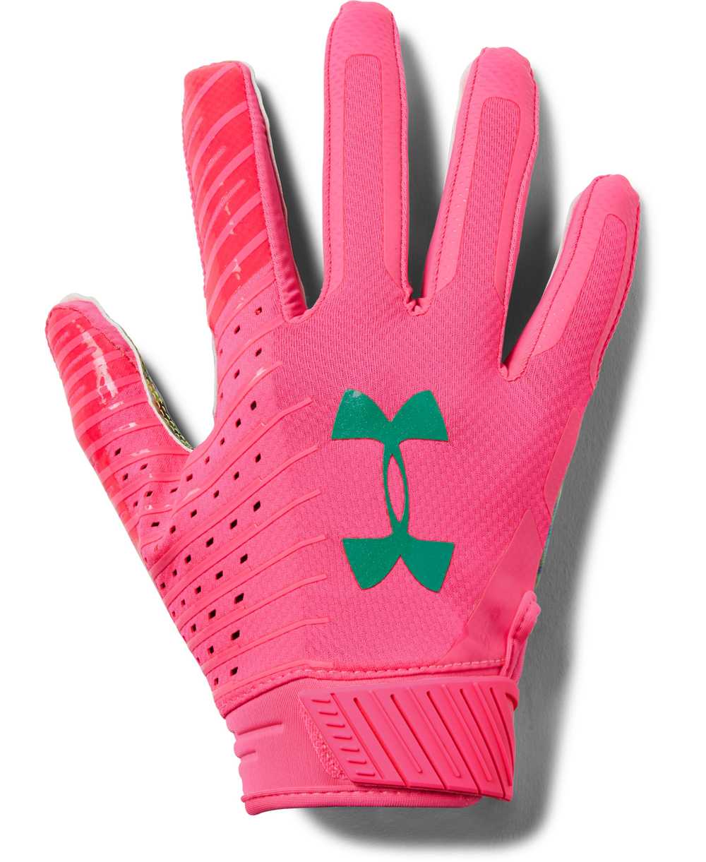 Spotlight LE Men's Football Gloves Mojo Pink 641