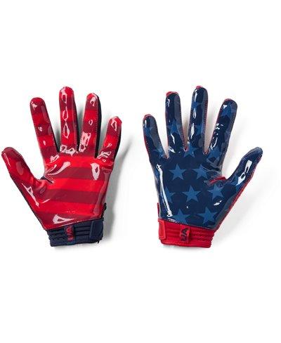 Spotlight LE Men's Football Gloves Midnight Navy 410
