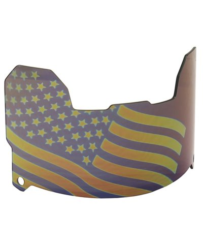 Flag Tinted Men's Football Visor