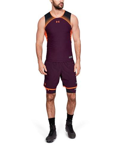 NFL Combine Authentic Men's Football Shorts Polaris Purple 501
