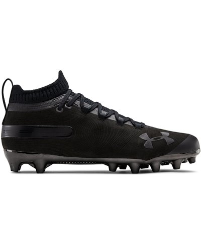 Men's Spotlight Suede MC American Football Cleats Black