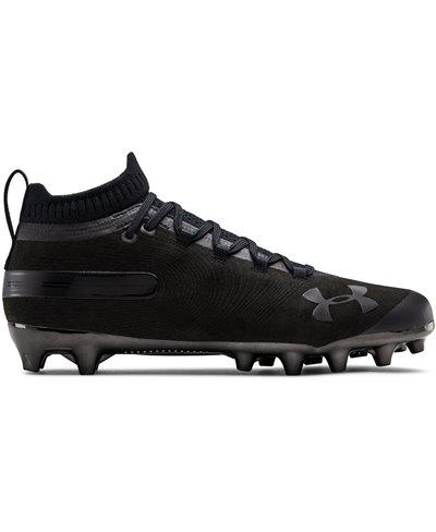 Spotlight Suede MC Zapatos de Fútbol Americano para Hombre Black