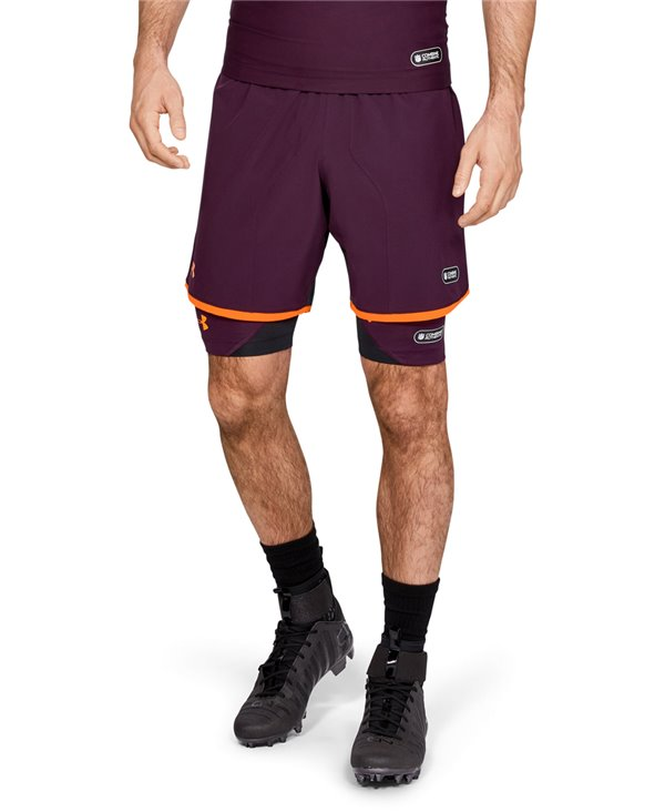 NFL Combine Authentic Pantalons de Football Américain Homme Polaris Purple 501