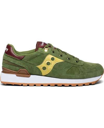 Shadow Original Suede Ranger Zapatos Sneakers para Hombre Green/Gold