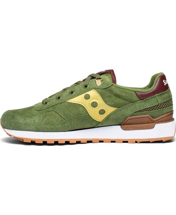 Shadow Original Suede Ranger Scarpe Sneakers Uomo Green/Gold