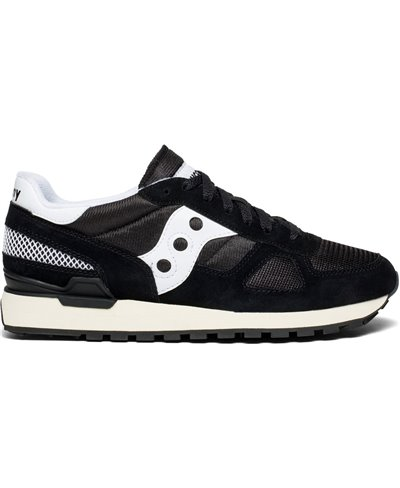 Men's Shadow Original Vintage Sneakers Shoes Black/White