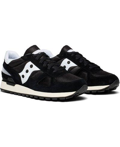 Men's Shadow Original Vintage Sneakers Shoes Black/White