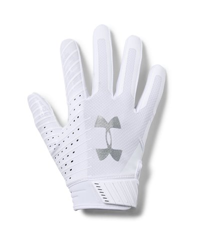 Spotlight Men's Football Gloves White 100