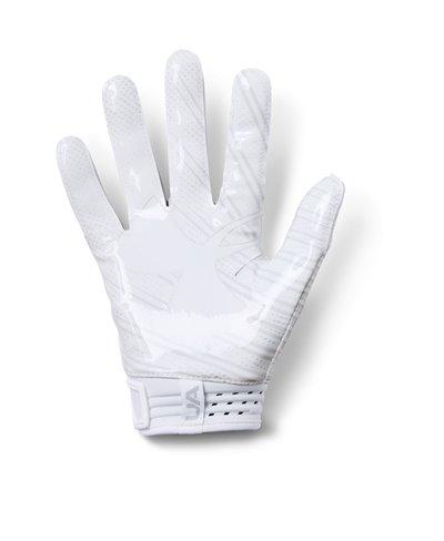 Spotlight Men's Football Gloves White 100
