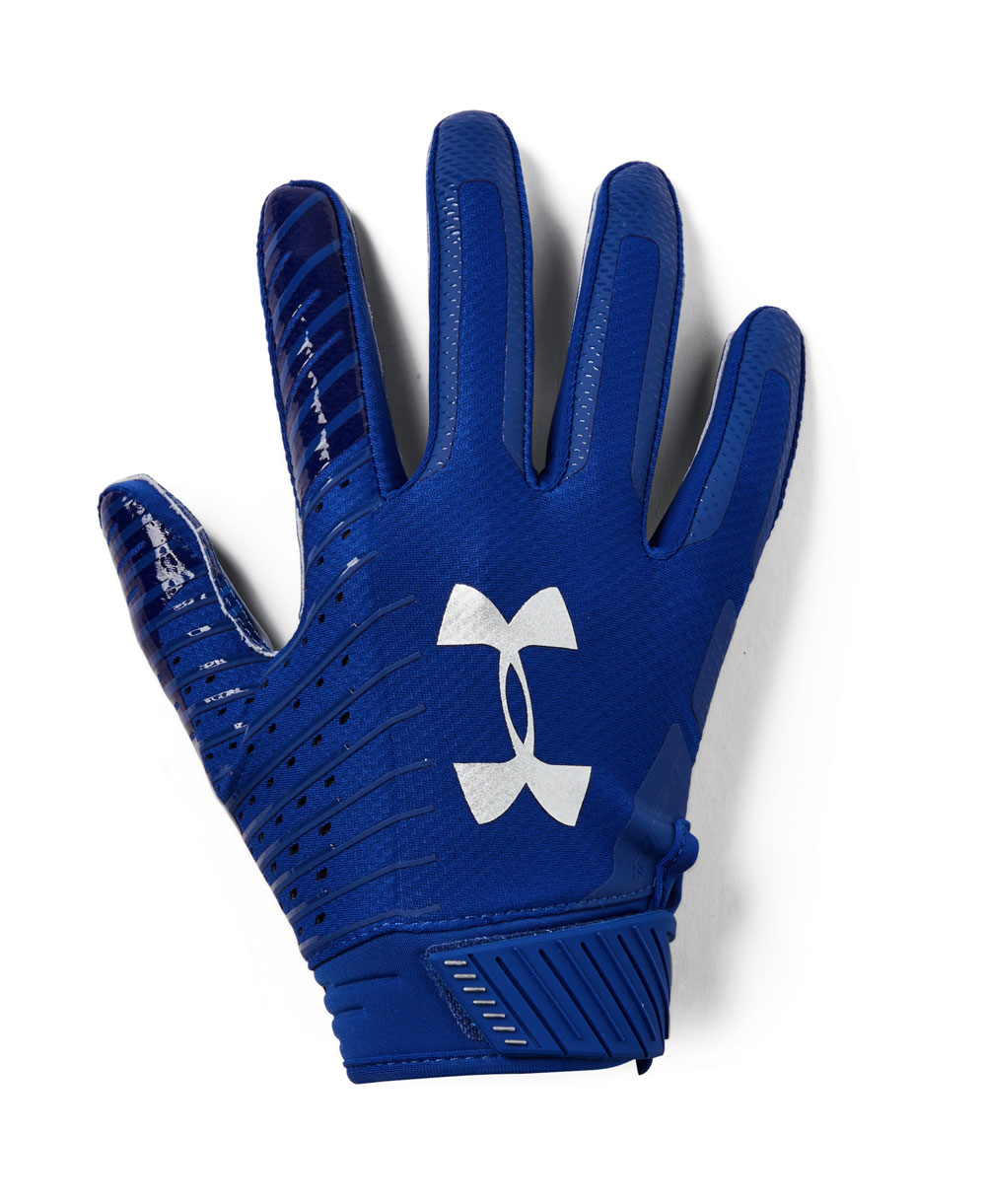 ae8ee19c0414c Under Armour Spotlight Men's Football Gloves Royal 400